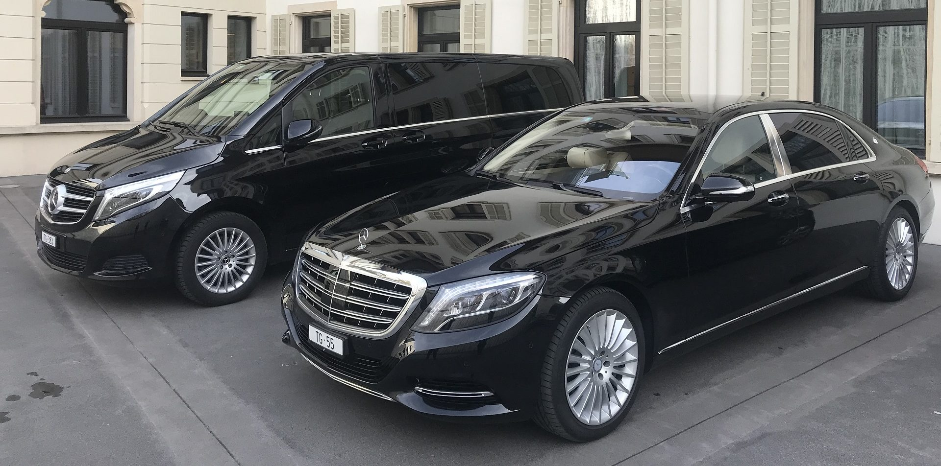 Maybach S500 Mercedes THE DRIVER
